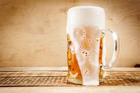 ice cold beer. craft beer